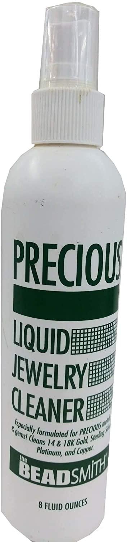 Precious Liquid Jewelry Cleaner - 80Z. (Made in The U.S.A)