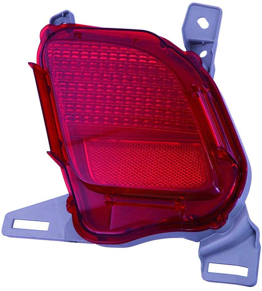 CarLights360: For 2014 2015 2016 2017 2018 TOYOTA HIGHLANDER Reflector Passenger Side - (CAPA Certified) Replacement for TO1185108