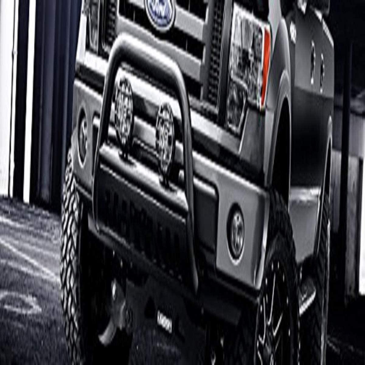 R&L Racing Matte Black Heavy Duty Steel Bull Bar 2010-2015 for Dodge Ram 2500/3500 Brush Push Front Bumper Grill Grille Guard
