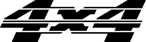 4 Wheel Drive 4X4 5, Vinyl Car Decal, White', 5-by-5 inches'