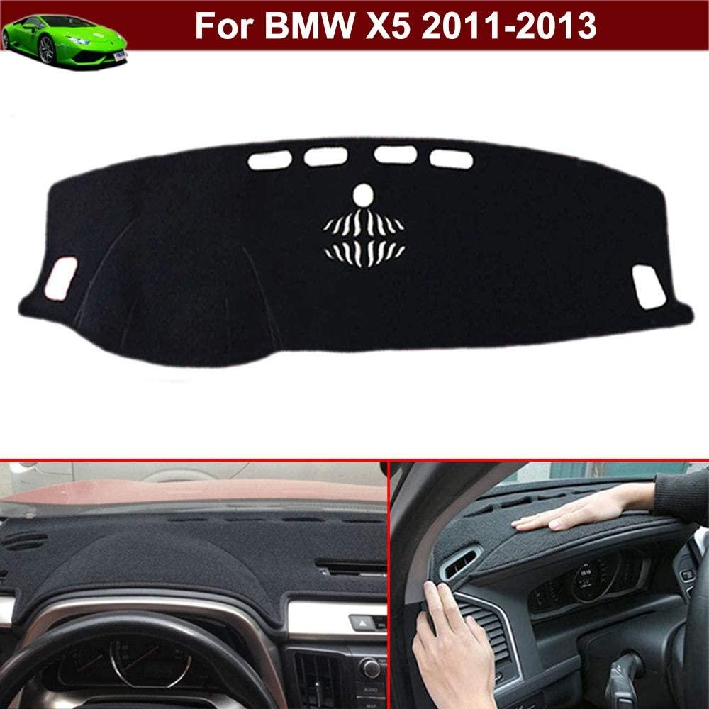 Kaitian New 1pcs Non-Slip Design Dash Covers Dashboard Cover Sun Visor Cover DashMat Dash Mat Dash Carpet Custom Fit for BMW X5 2011 2012 2013