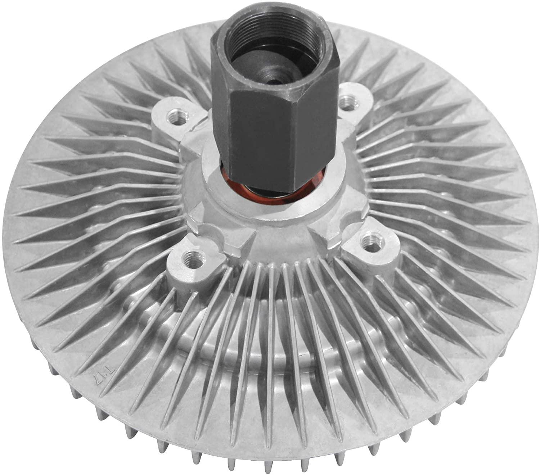 MYSMOT 920-2230 2748 Engine Cooling Fan Clutch Compatible with 2002-2008 Dodge Ram 1500 V6 3.7L,V8 4.7L SOHC 5.9L OHV