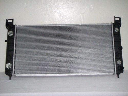 Go-Parts - for 1999 - 2014 GMC Sierra 1500 HD Radiator - (6.0L V8 GAS; Automatic Transmission) 22840116 GM3010274 Replacement 2000 2001 2002 2003 2004 2005 2006 2007 2008 2009 2010 2011 2012 2013