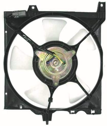 Go-Parts - for 1991 - 1996 Infiniti G20 A/C Condenser Fan - Left (Driver) Side 2148162J07 IN3113101 Replacement 1992 1993 1994 1995