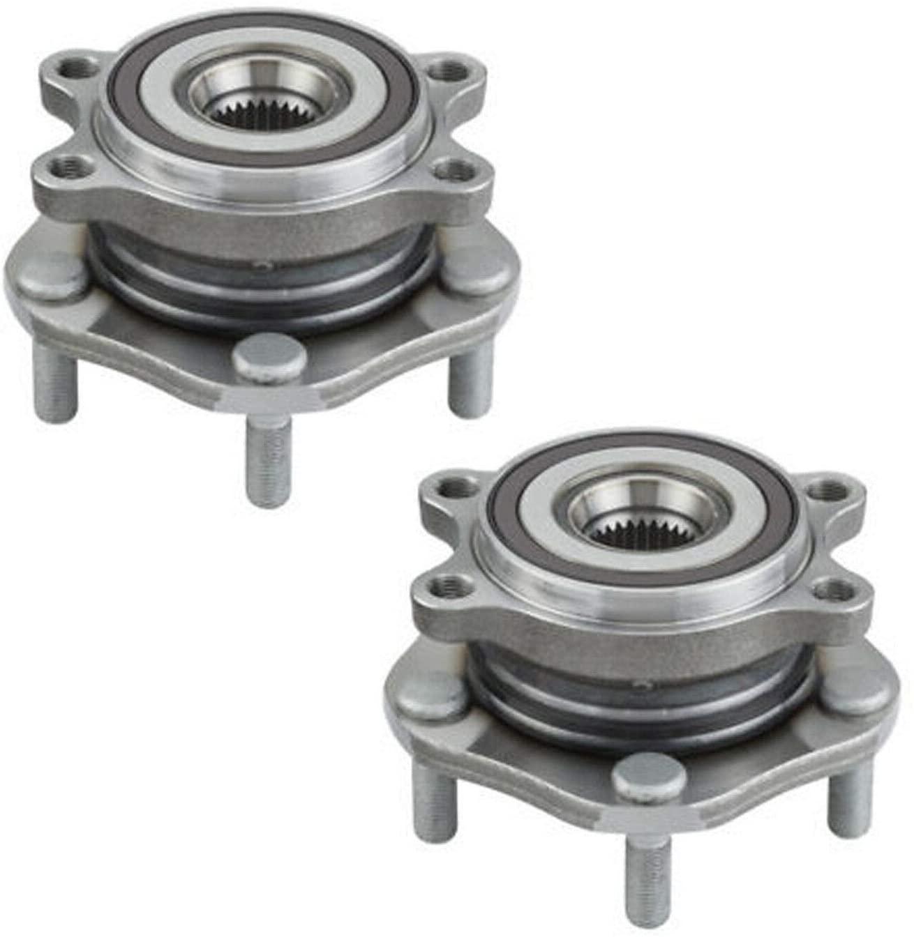 Bodeman - Pair 2 Front Wheel Hub & Bearing Assembly for 2014-2017 Nissan Rogue
