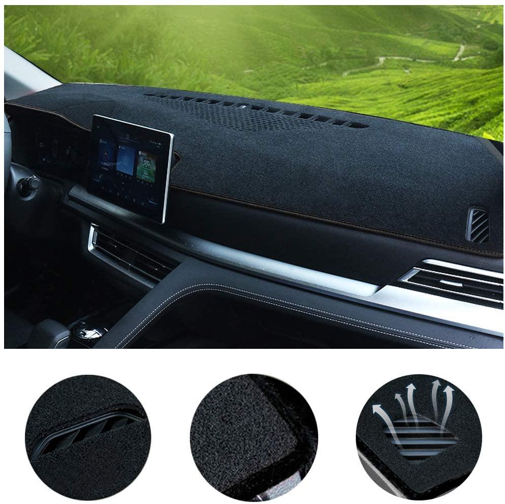 Car Custom Dash Cover for KIA Sorento 2009-2012, 2013-2014, 2015-2018 Auto Dashboard Pad DashMat Dash Board Cover (Black line)