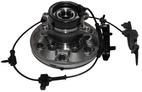 Wheel Hub Bearing Front Driver Left Side Assembly Compatible With Chevrolet GMC Isuzu 2006 i-350/2004-2008 Canyon Colorado/2007-2008 i-370