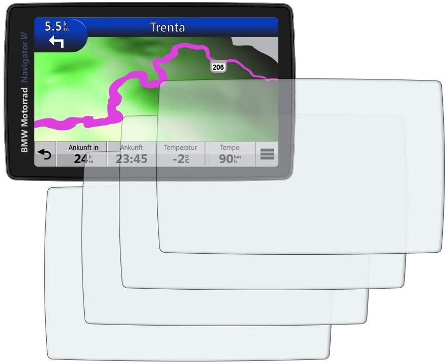 Speedo Angels Dashboard Screen Protector for NAVIGATOR VI - 2 x Ultra Clear & 2 x Anti Glare