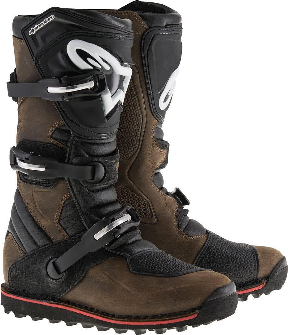 Alpinestars Tech-T Men's Brown Motocross Boots - 6