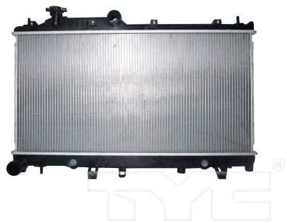 Go-Parts - for 2010 - 2014 Subaru Outback Radiator 45111AJ05A SU3010665 Replacement 2011 2012 2013