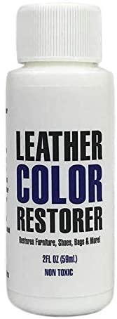 Leather Hero Leather Color Restorer & Applicator- Refinish, Repair, Renew Leather & Vinyl Sofa, Purse, Shoes, Auto Car Seats, Couch 2oz (Cognac)
