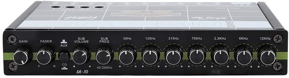 Car Equalizer - Delaman Car Automobile Audio Stereo EQ Equalizer with 7 Band