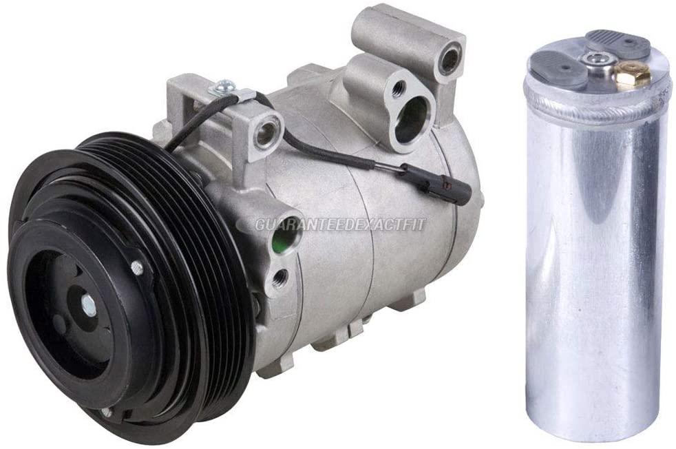 For Honda Passport Isuzu Amigo Axiom & VehiCROSS AC Compressor w/A/C Drier - BuyAutoParts 60-86340R2 NEW