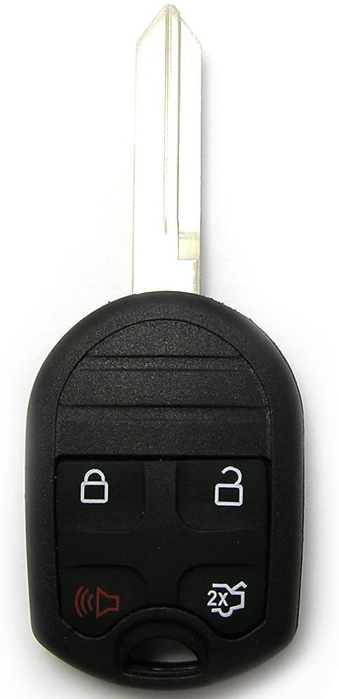 SCITOO Keyless Entry Kit 1PC Replacement fit 2001-2016 Ford Crown Victoria Edge Escape CWTWB1U793 Keyless Entry Remote Car Key Fob Control 4 Bottons US Stock