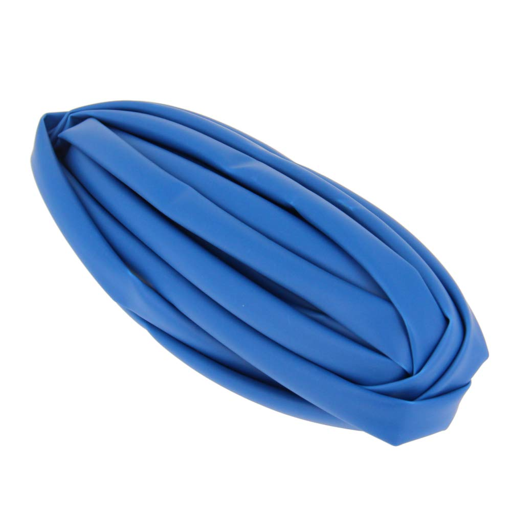 Othmro PE Heat Shrink Tube 2:1 Electrical Insulation Tube Wire Cable Tubing Sleeving Wrap 6mm Diameter 2M Length Blue 1PCS