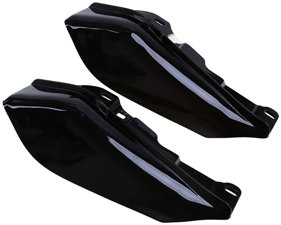 Motorcycle Black ABS Plastic Mid-Frame Air Deflector Trims For Harley Touring Street Glide FLHX 2009-2016 Motorcycle Parts