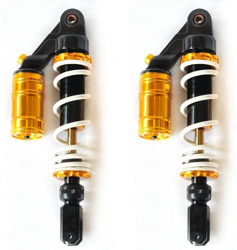 Sunny 320mm Adjustable Air Shock Absorbers Replacement Suspension For Motorcycle
