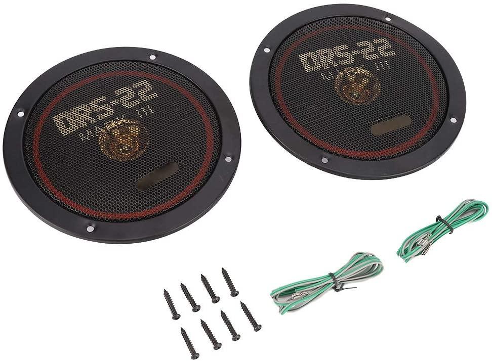 KIMISS Car Coaxial Speaker, 2pcs 6.5