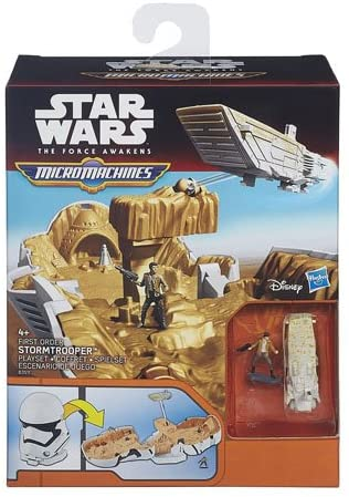 Star Wars The Force Awakens Micro Machine Playset (Assorted R2-D2/Stormtrooper)