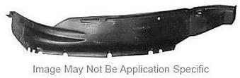 Go-Parts - for 2000 - 2004 Mitsubishi Montero Sport Front Fender Liner (Splash Shield) Replacement Right (Passenger) MR496662 MI1249108 Replacement 2001 2002 2003