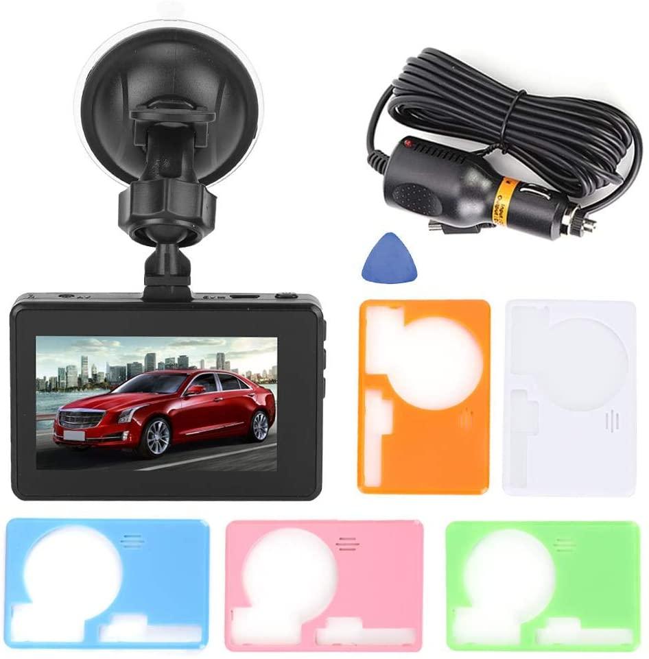 Gorgeri Driving Recorder, 3 inch Full HD 1080P Car Driving Recorder 140° DVR Camera Motion Detection Night Vision