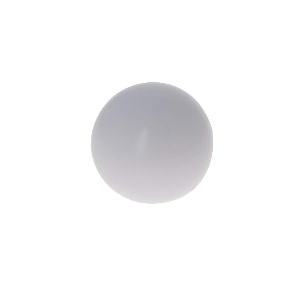 Othmro PTFE Ball, 12mm Diameter, Ground Finish, Diaphragm Pneumatic Pump White
