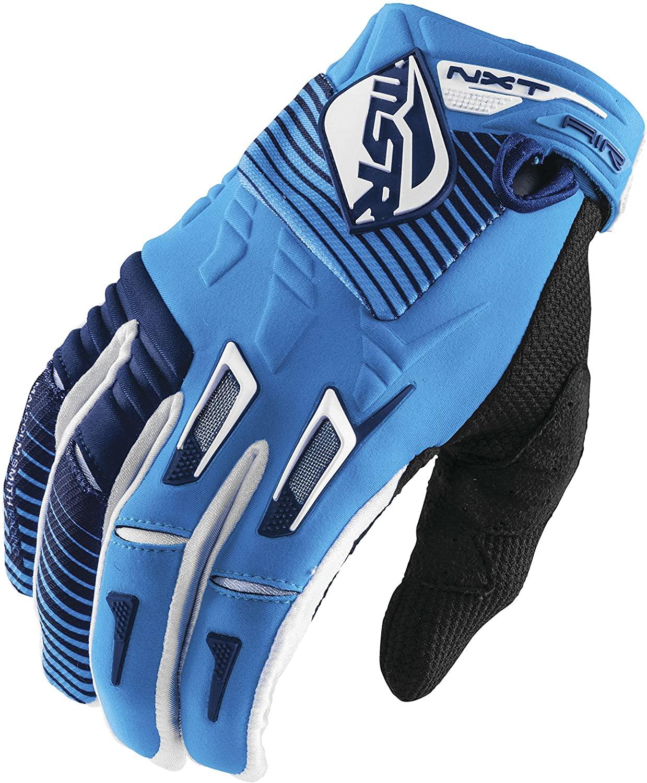 MSR M16 NXT Air Gloves, Distinct Name: White/Cyan/Navy, Gender: Mens/Unisex, Primary Color: White, Size: Sm, 361059