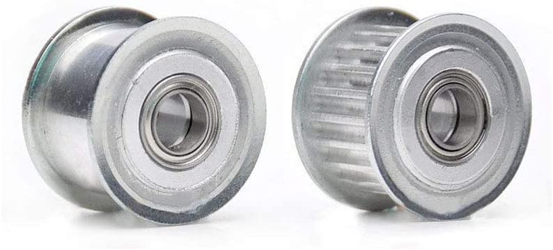 XL 12T Timing Belt Tensioner Pulley Smooth Idler Pulley 5mm Bore For 10mm Width Belt (XL12T, Smooth surface, Bore: 5mm)