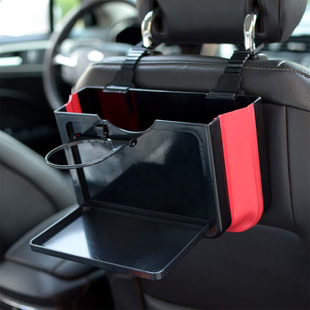 Car Trash Can Garbage Can,Waterproof Truck Organizer,Multifunctional Trash Can for Car.