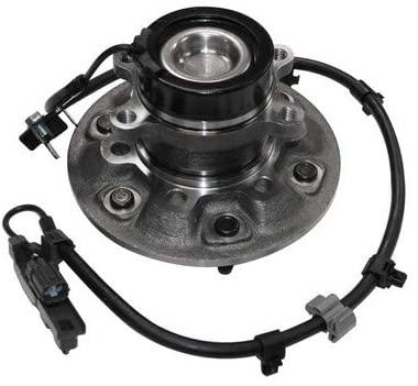 JP Auto Wheel Hub Bearing Front Passenger Right Side Assembly Compatible With Chevrolet GMC Isuzu 2006 i-280/2008 i-370/2004-2008 Canyon Colorado/2007-2008 i-290