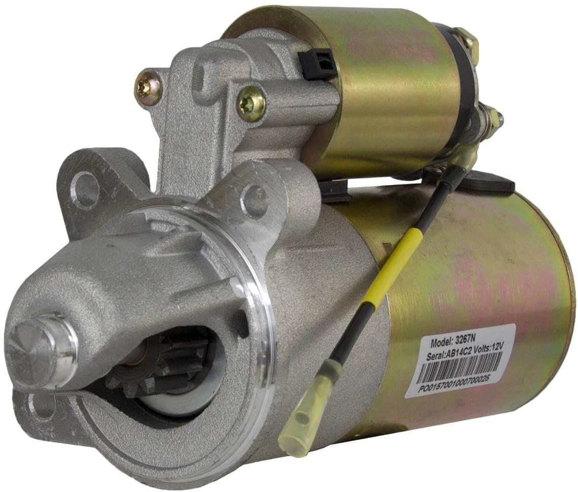 Rareelectrical NEW 12V STARTER COMPATIBLE WITH FORD TRUCK 1997-1998 F-150 F-250 V8 4.6L 5.4L 281CID 330CID SR7533N F6VU-11000-AA, F6VZ-11002-AA, F75U-11000-AA F75Z-11002-AA SA-822 SA-838