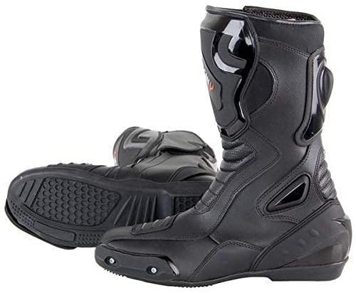 Vulcan V300 Men's Velocity Motorcycle Sport Boots - 9.5
