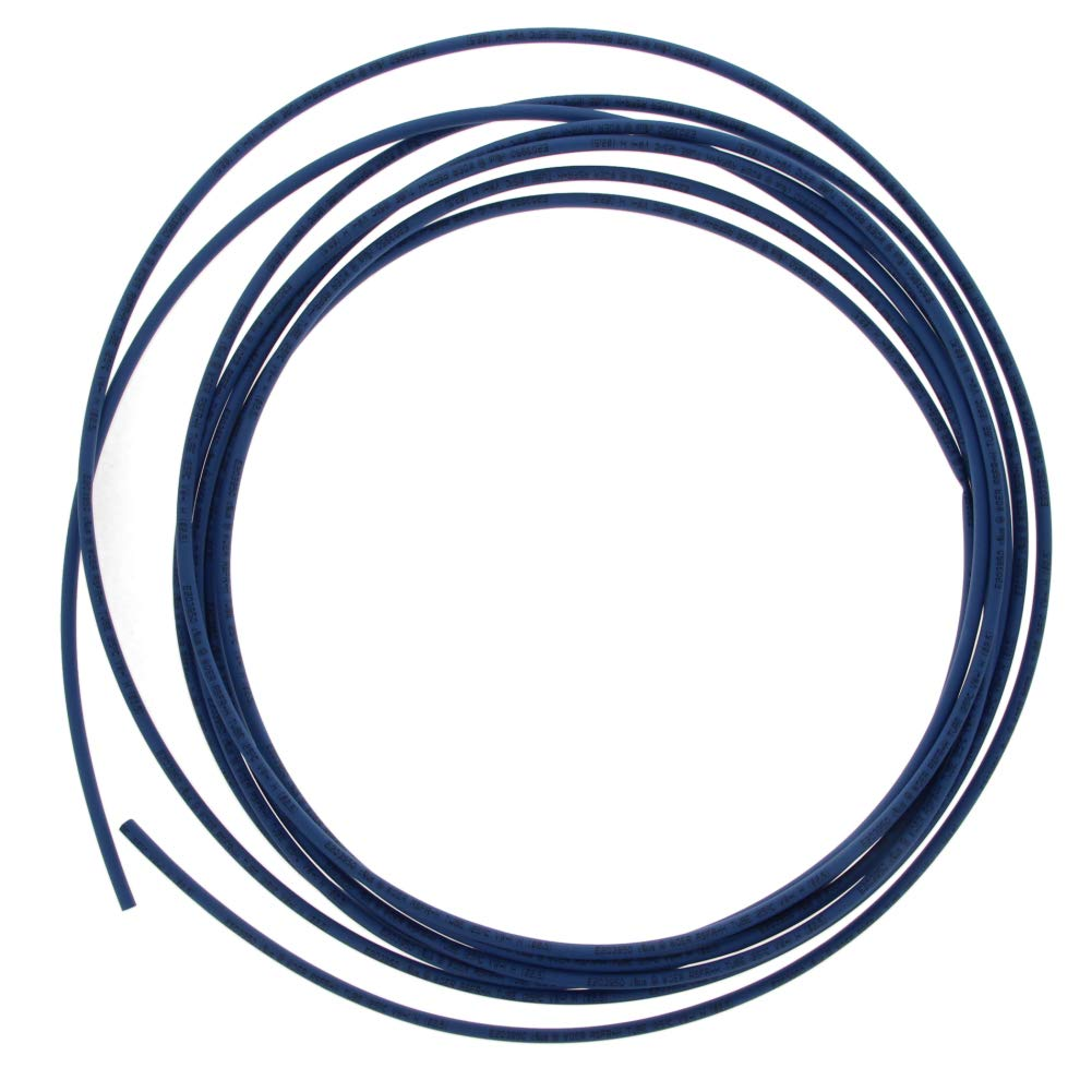 Othmro PE Heat Shrink Tube 2:1 Electrical Insulation Tube Wire Cable Tubing Sleeving Wrap 2.5mm Diameter 4M Length Blue 1PCS