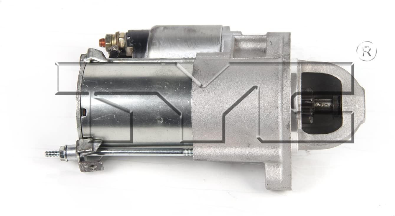 JP Auto Starter Motor Compatible With Kia/Hyundai Amanti Entourage Santa Fe Sedona Sonata Sorento 2008 2009 2010 2011 2012 2013 Replacement