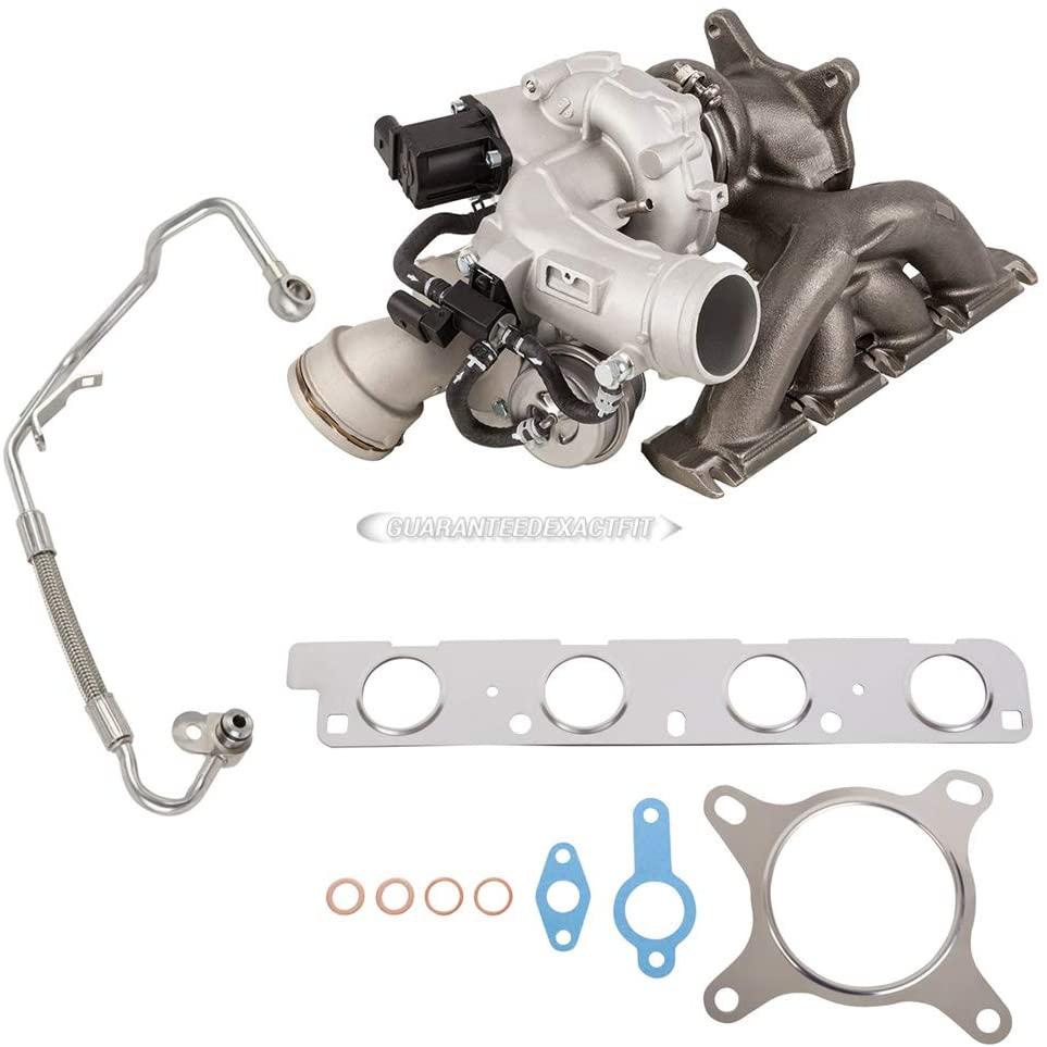 For Audi A3 & VW GTI Passat CC Turbo Turbocharger w/Gaskets & Oil Line - BuyAutoParts 40-82804IL New