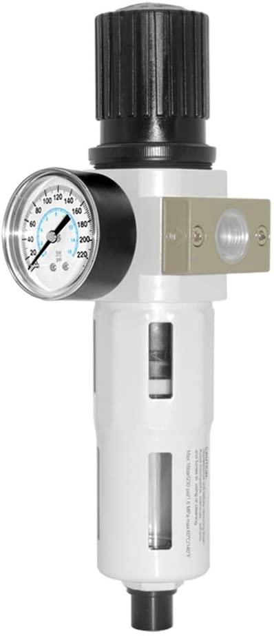 Beduan Compressed Air Pressure Regulator Filter 1/2