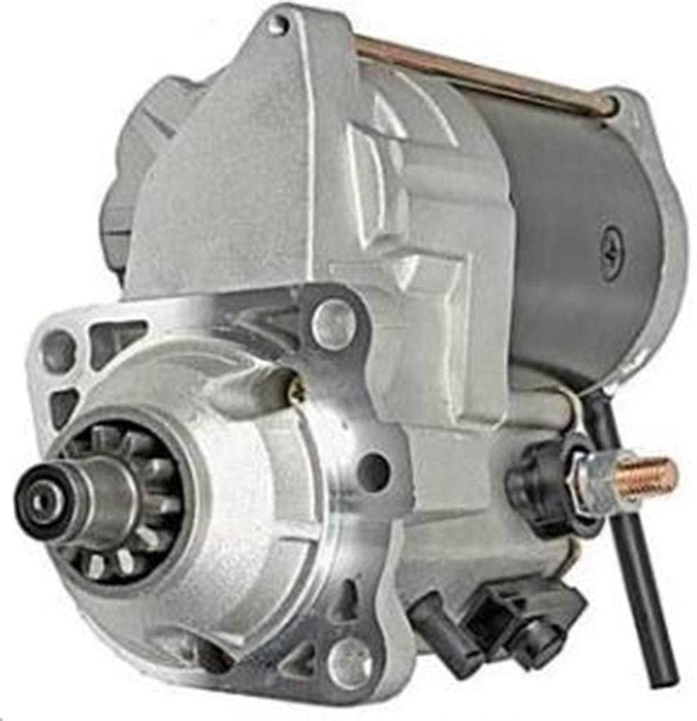 Rareelectrical NEW STARTER MOTOR COMPATIBLE WITH JOHN DEERE CRAWLER 450G 455G 550G 650G 228000-6551 2280006551