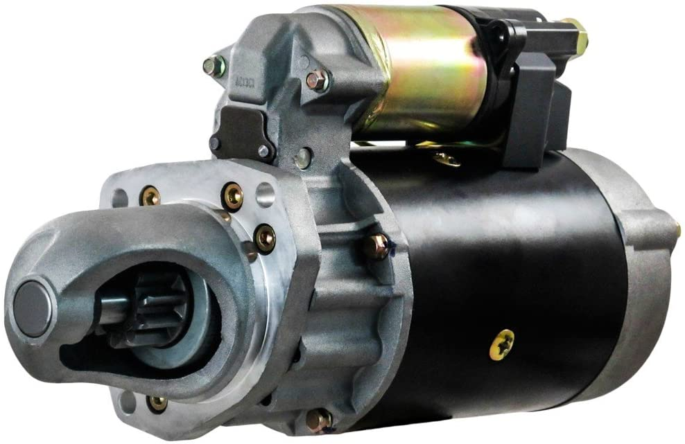Rareelectrical NEW 12V 10T CW STARTER COMPATIBLE WITH JOHN DEERE COTTON PICKER 9940 9950 9960 9965 128000-5970