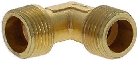 Othmro Air Compressor Connector Zinc Alloy Elbow 16.2×16.2 3/8×3/8 PT thread 1pcs