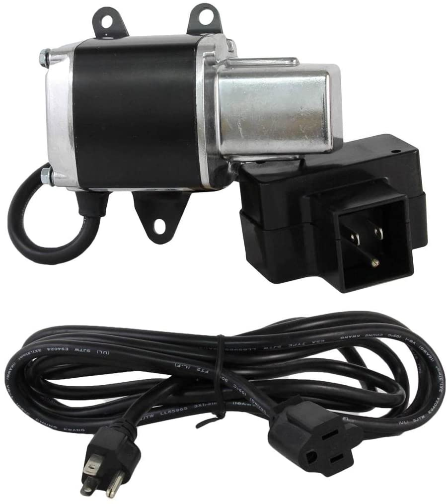 Rareelectrical NEW 120V CCW 9T STARTER MOTOR COMPATIBLE WITH TECUMSEH ENGINE HS40 33290 33290A 33290B 33290 33290A 33290B 33290C 33290D 33290E 33517