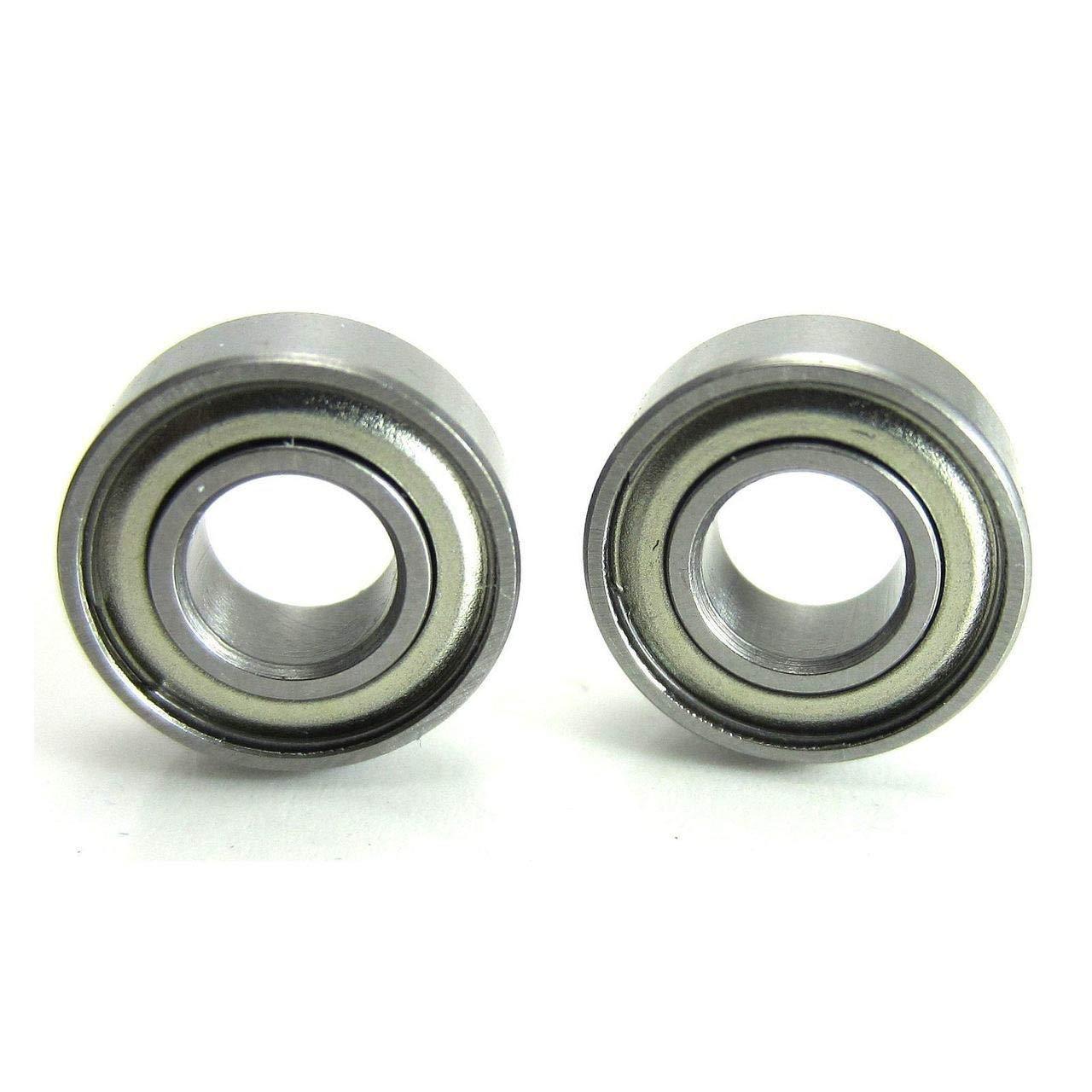5x11x4mm Precision Brushless Motor Ball Bearings (2) Chrome Steel