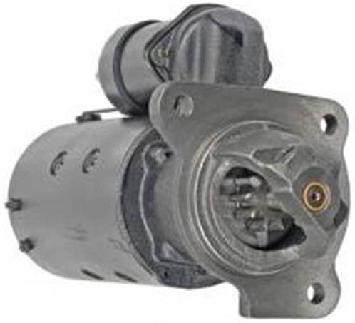 Rareelectrical NEW STARTER MOTOR COMPATIBLE WITH MASSEY FERGUSON TRACTOR MF-235 MF-245 PERKINS AD2-152 DIESEL