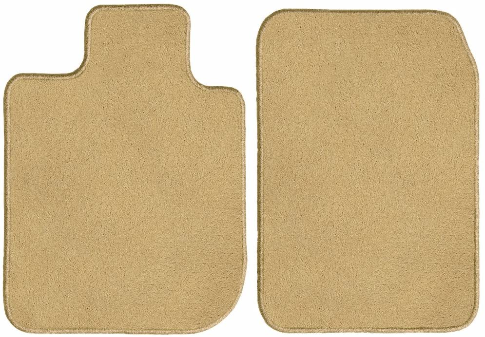 GGBAILEY Beige Driver & Passenger Floor Mats Custom-Fit for Aston Martin Vanquish Coupe 2013, 2014, 2015, 2016, 2017
