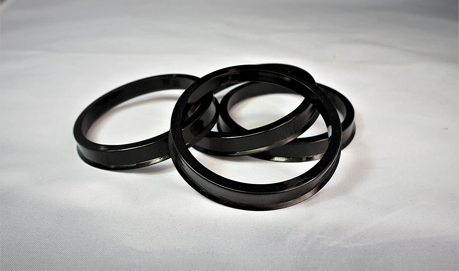 Customadeonly 4 Pieces Polycarbonate Hub Centric Rings 87.1mm Wheel Bore to 78.1mm Factory Hub