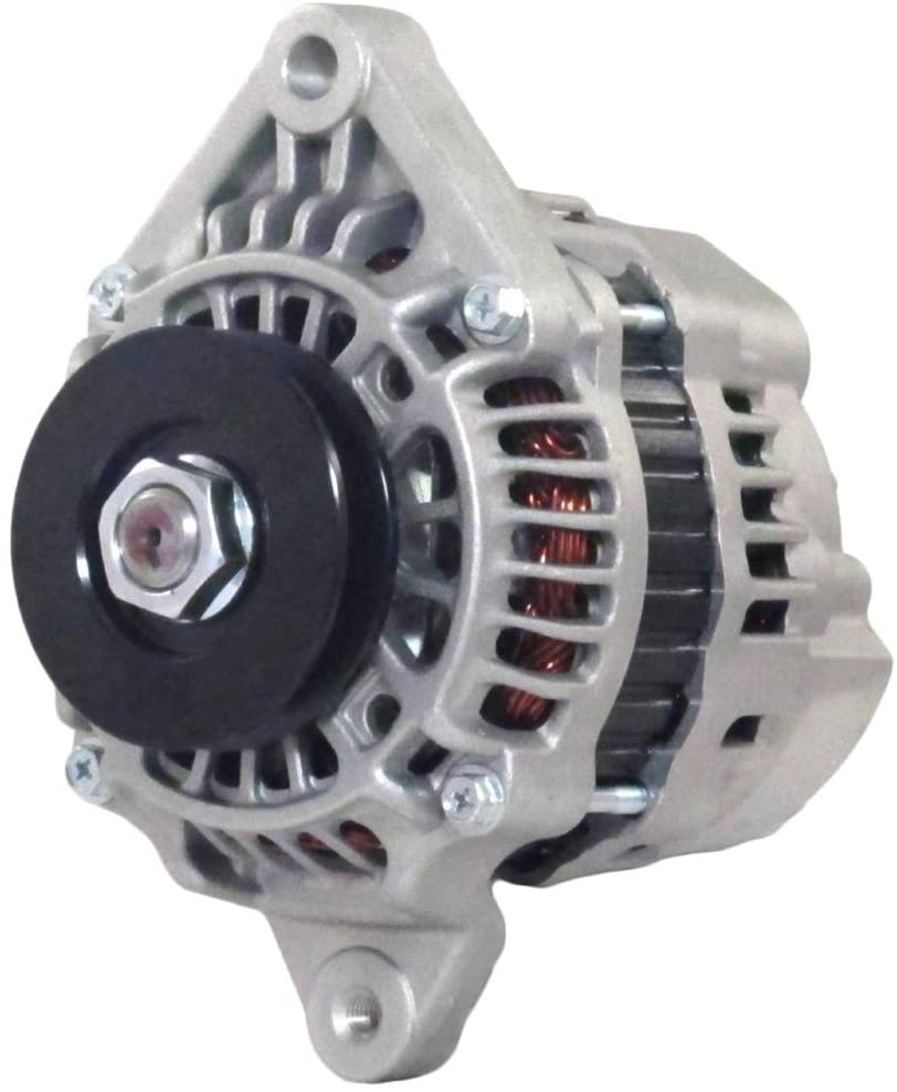 Rareelectrical NEW 12V 50A ALTERNATOR COMPATIBLE WITH MAHINDRA TRACTOR 2615 HST 4WD 3CYL DIESEL