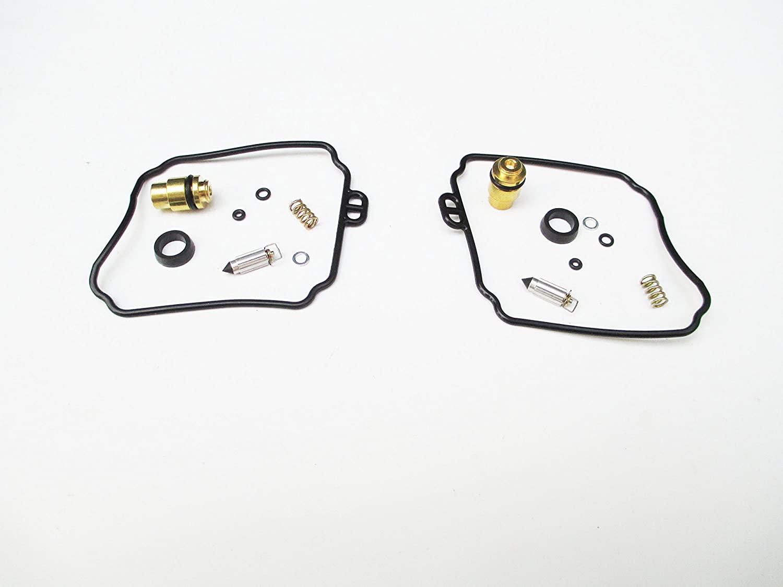 Set of 2 Carburetor Rebuild Repair Kit for Yamaha XV250 Virago XVS650 V-Star 18-5171