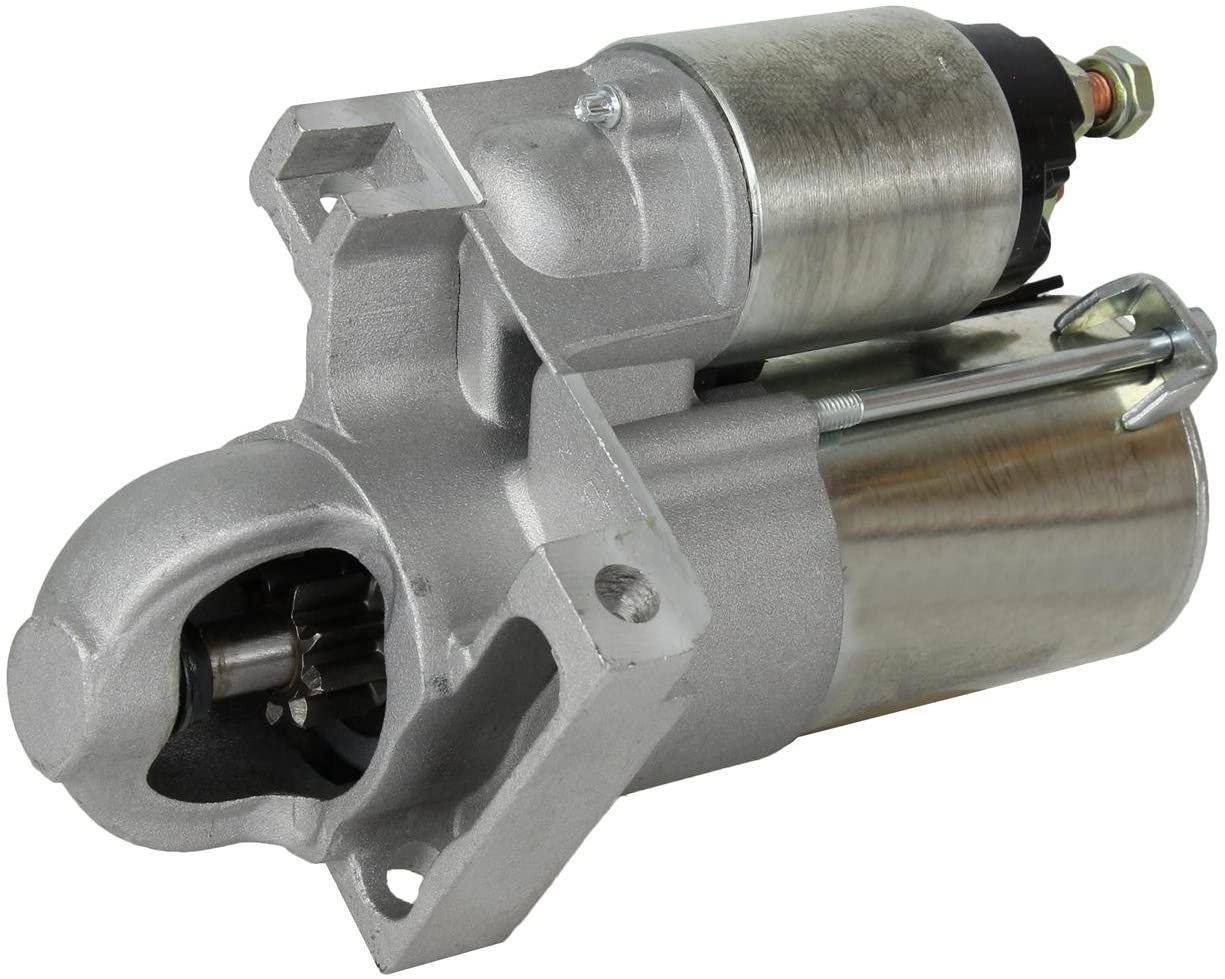 Rareelectrical NEW STARTER MOTOR COMPATIBLE WITH REPLACES 2005 PONTIAC G6 3.5L 9000901 323-1396 12577949