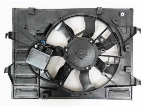 Go-Parts - for 2017 - 2019 Mazda Mx-5 Miata Radiator Cooling Fan Assembly PEFB-15-025 MA3115169 Replacement 2018