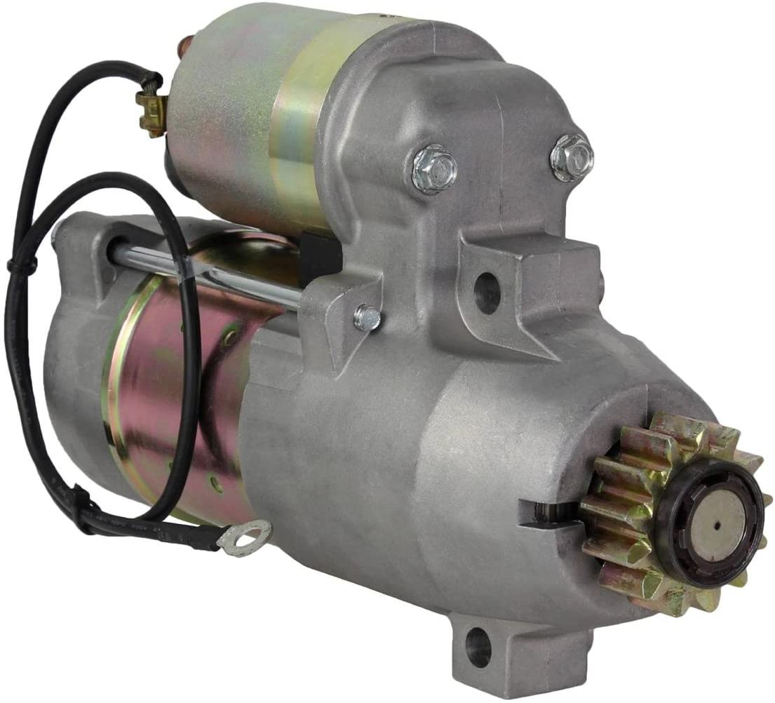 Rareelectrical NEW STARTER MOTOR COMPATIBLE WITH YAMAHA OUTBOARD 02-08 LF200TXR S114-860 S114860 S114-860 S114860N 50-888333T 69J-81800-00 M0T5023N