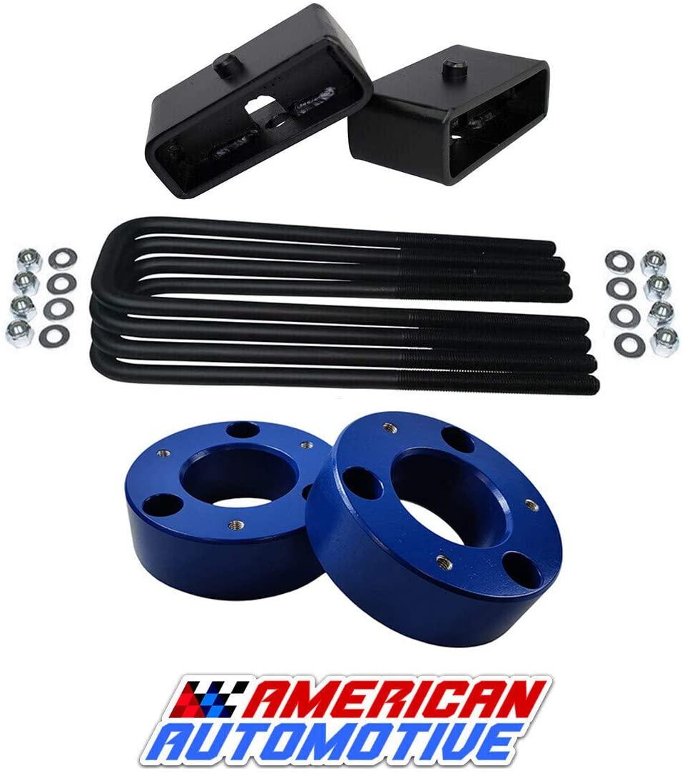 American Automotive Full Lift Kit Compatible Compatible 2007-2020 Silverado & Sierra 1500 3